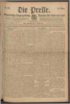 Die Presse 1910, Jg. 28, Nr. 240 Zweites Blatt, Drittes Blatt