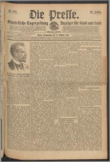 Die Presse 1910, Jg. 28, Nr. 252 Zweites Blatt, Drittes Blatt