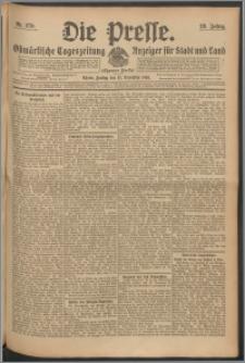 Die Presse 1910, Jg. 28, Nr. 270 Zweites Blatt, Drittes Blatt, Viertes Blatt
