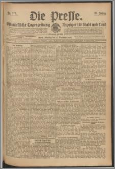 Die Presse 1910, Jg. 28, Nr. 273 Zweites Blatt, Drittes Blatt