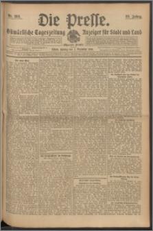 Die Presse 1910, Jg. 28, Nr. 282 Zweites Blatt, Drittes Blatt