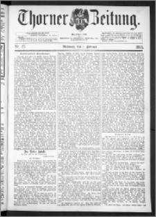 Thorner Zeitung 1893, Nr. 27