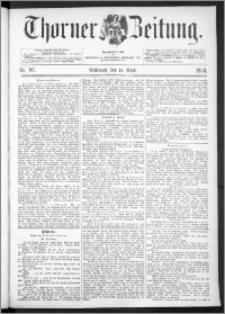Thorner Zeitung 1893, Nr. 85