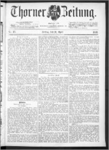 Thorner Zeitung 1893, Nr. 93