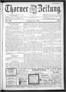 Thorner Zeitung 1893, Nr. 108 Zweites Blatt