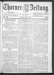 Thorner Zeitung 1893, Nr. 121