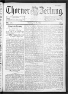 Thorner Zeitung 1893, Nr. 123 Erstes Blatt