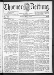 Thorner Zeitung 1893, Nr. 233