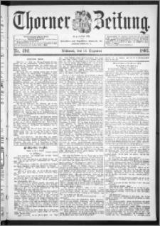Thorner Zeitung 1893, Nr. 292