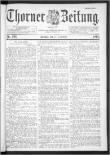 Thorner Zeitung 1893, Nr. 296 Drittes Blatt