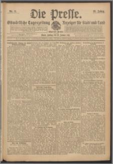 Die Presse 1911, Jg. 29, Nr. 11 Zweites Blatt, Drittes Blatt