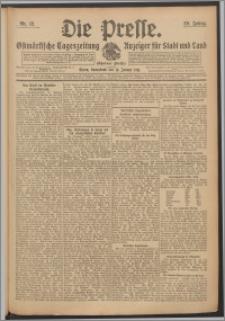 Die Presse 1911, Jg. 29, Nr. 12 Zweites Blatt, Drittes Blatt