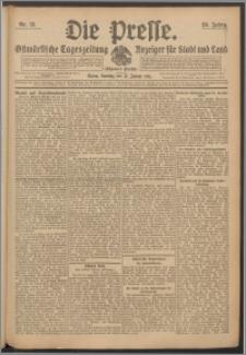 Die Presse 1911, Jg. 29, Nr. 13 Zweites Blatt, Drittes Blatt, Viertes Blatt, Fünftes Blatt