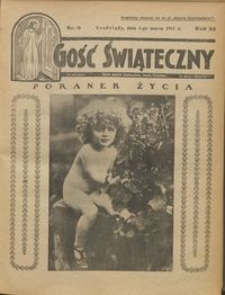 Gość Świąteczny 1931.03.01 R. XXXV nr 9