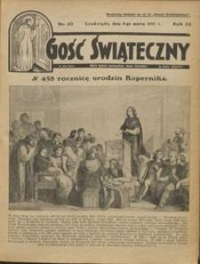 Gość Świąteczny 1931.03.08 R. XXXV nr 10