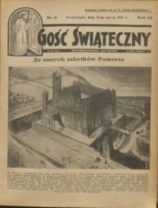 Gość Świąteczny 1931.03.15 R. XXXV nr 11
