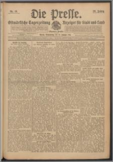 Die Presse 1911, Jg. 29, Nr. 16 Zweites Blatt, Drittes Blatt