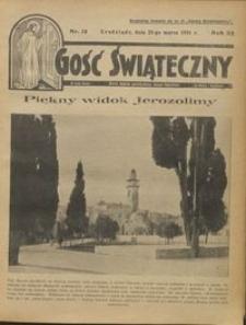 Gość Świąteczny 1931.03.22 R. XXXV nr 12