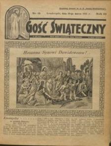Gość Świąteczny 1931.03.29 R. XXXV nr 13