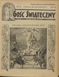 Gość Świąteczny 1931.04.05 R. XXXV nr 14