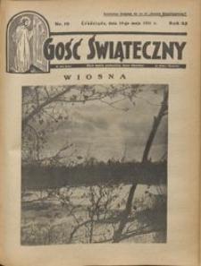 Gość Świąteczny 1931.05.10 R. XXXV nr 19