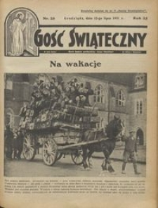 Gość Świąteczny 1931.07.12 R. XXXV nr 28