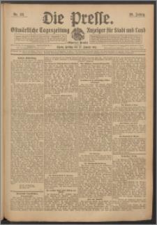 Die Presse 1911, Jg. 29, Nr. 23 Zweites Blatt, Drittes Blatt