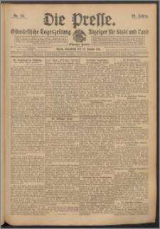 Die Presse 1911, Jg. 29, Nr. 24 Zweites Blatt, Drittes Blatt