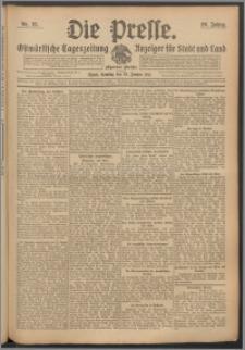 Die Presse 1911, Jg. 29, Nr. 25 Zweites Blatt, Drittes Blatt, Viertes Blatt