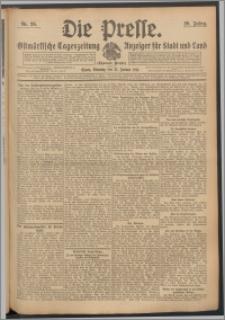 Die Presse 1911, Jg. 29, Nr. 26 Zweites Blatt, Drittes Blatt