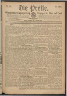 Die Presse 1911, Jg. 29, Nr. 30 Zweites Blatt, Drittes Blatt