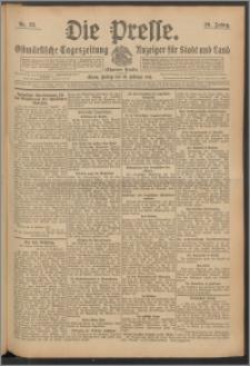 Die Presse 1911, Jg. 29, Nr. 35 Zweites Blatt, Drittes Blatt