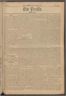 Die Presse 1911, Jg. 29, Nr. 36 Zweites Blatt, Drittes Blatt