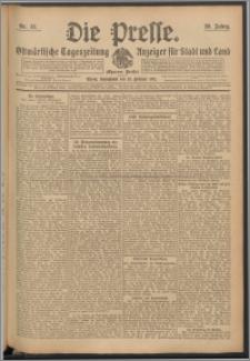 Die Presse 1911, Jg. 29, Nr. 42 Zweites Blatt, Drittes Blatt