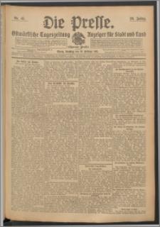 Die Presse 1911, Jg. 29, Nr. 43 Zweites Blatt, Drittes Blatt