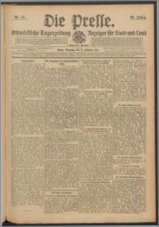 Die Presse 1911, Jg. 29, Nr. 44 Zweites Blatt, Drittes Blatt