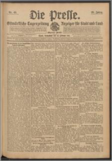 Die Presse 1911, Jg. 29, Nr. 48 Zweites Blatt, Drittes Blatt