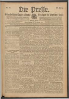 Die Presse 1911, Jg. 29, Nr. 49 Zweites Blatt, Drittes Blatt, Viertes Blatt