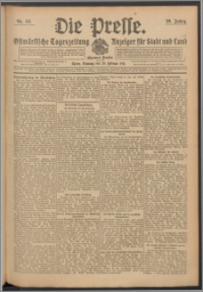 Die Presse 1911, Jg. 29, Nr. 50 Zweites Blatt, Drittes Blatt