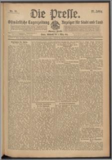 Die Presse 1911, Jg. 29, Nr. 51 Zweites Blatt, Drittes Blatt