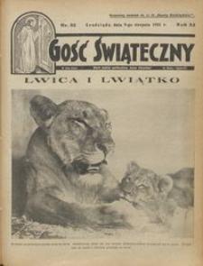 Gość Świąteczny 1931.08.09 R. XXXV nr 32