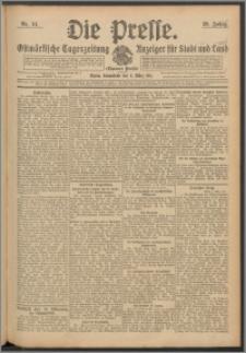 Die Presse 1911, Jg. 29, Nr. 54 Zweites Blatt, Drittes Blatt