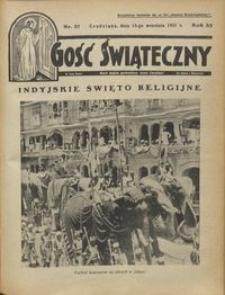 Gość Świąteczny 1931.09.13 R. XXXV nr 37