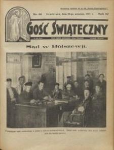Gość Świąteczny 1931.09.20 R. XXXV nr 38