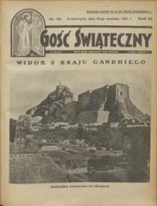 Gość Świąteczny 1931.09.28 R. XXXV nr 39