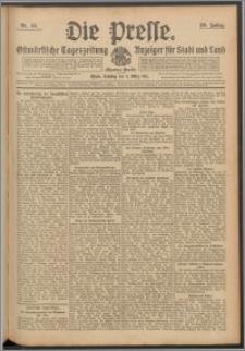 Die Presse 1911, Jg. 29, Nr. 55 Zweites Blatt, Drittes Blatt, Viertes Blatt