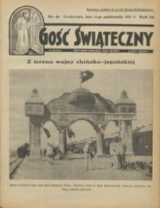Gość Świąteczny 1931.10.11 R. XXXV nr 41