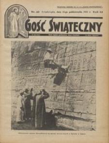 Gość Świąteczny 1931.10.18 R. XXXV nr 42