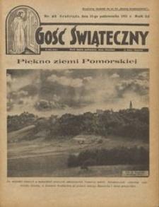 Gość Świąteczny 1931.10.25 R. XXXV nr 43