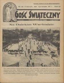 Gość Świąteczny 1931.11.01 R. XXXV nr 44